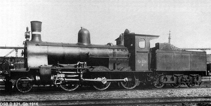 DSB D 821