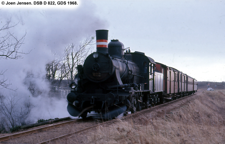 DSB D 822