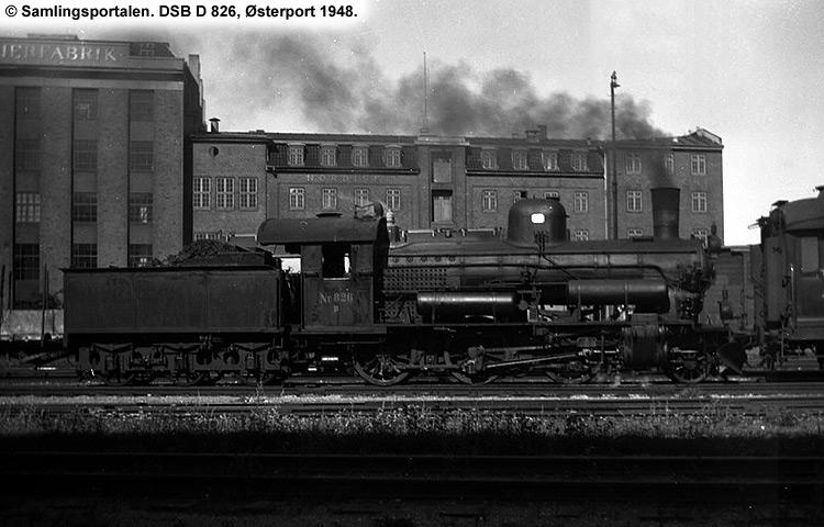 DSB D826
