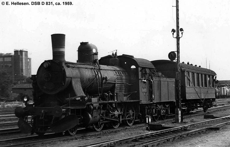 DSB D 831