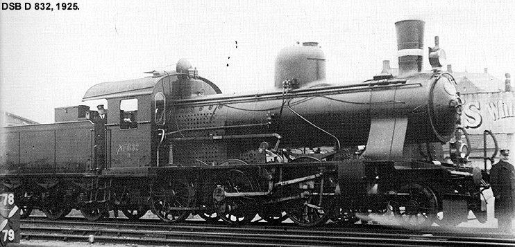 DSB D 832