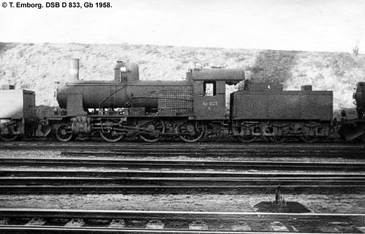 DSB D 833