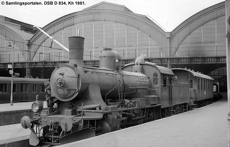 DSB D 834