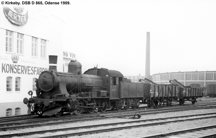 DSB D 865