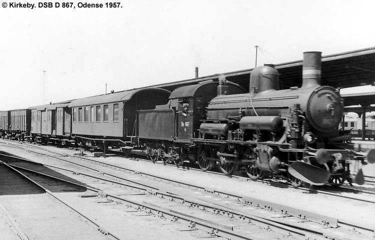 DSB D 867
