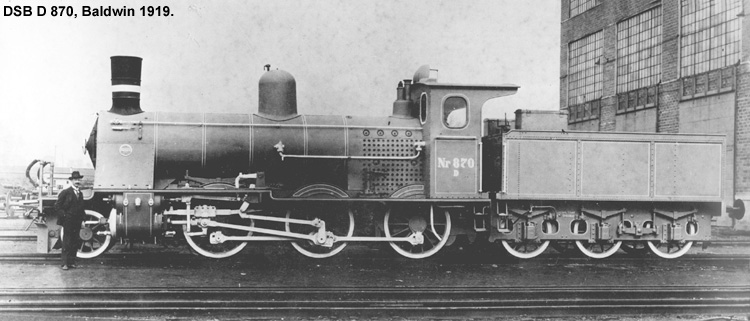 DSB D 870