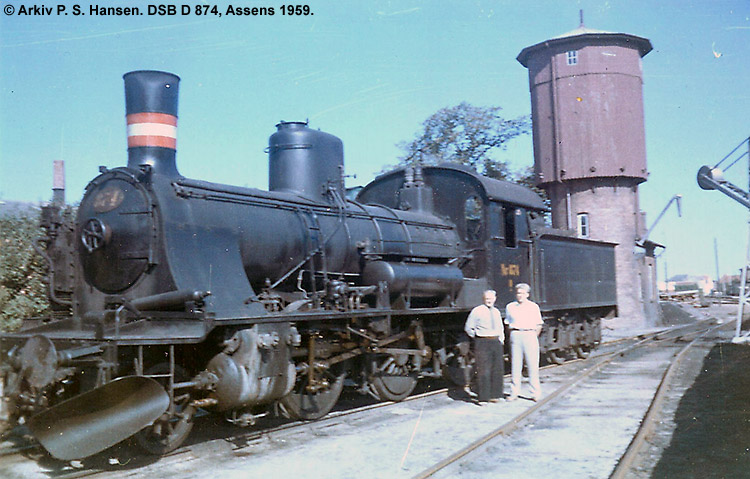 DSB D 874