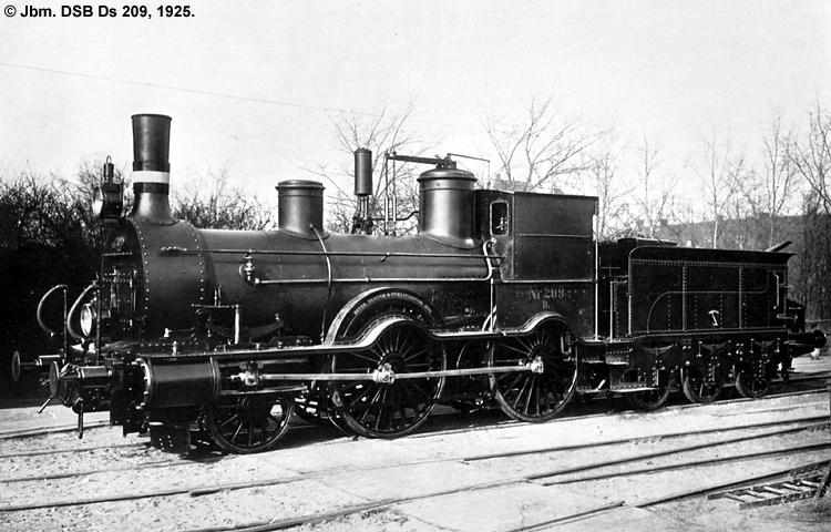 DSB Ds 209