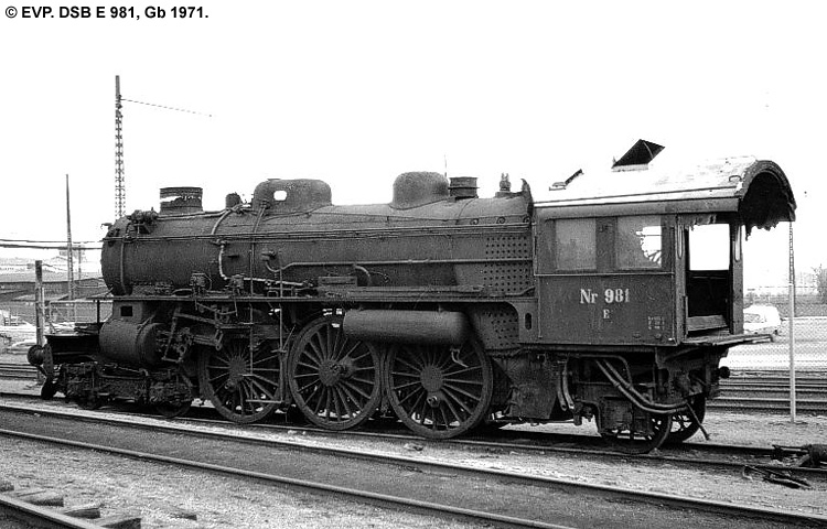 DSB E 981