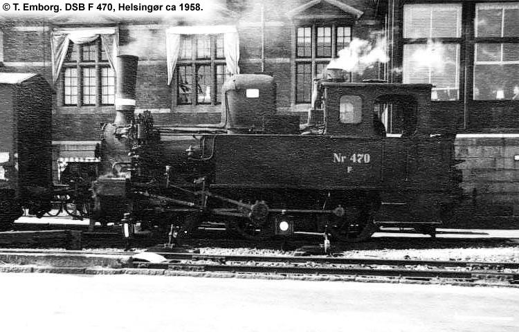DSB F 470