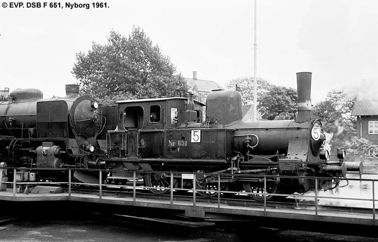 DSB F 651