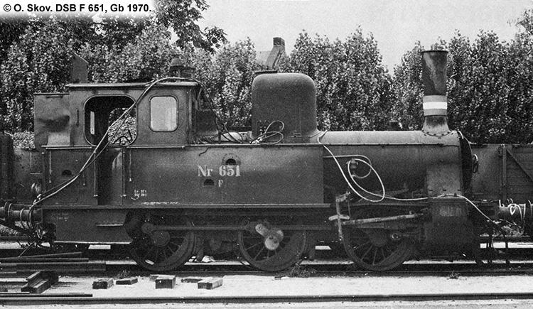DSB F651