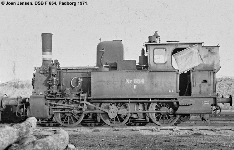 DSB F 654