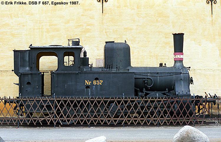 DSB F 657