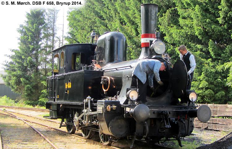 DSB F658