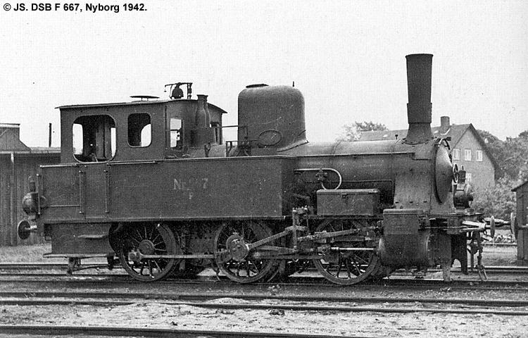 DSB F 667