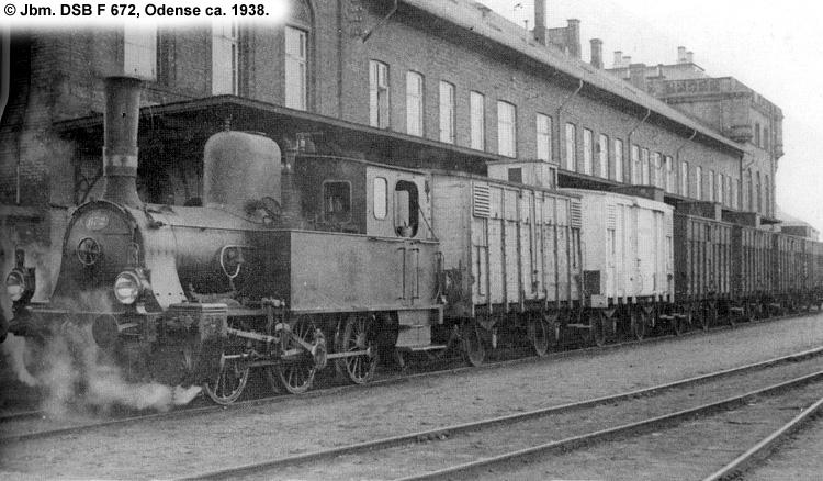 DSB F 672