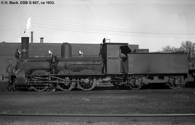 DSB G 607