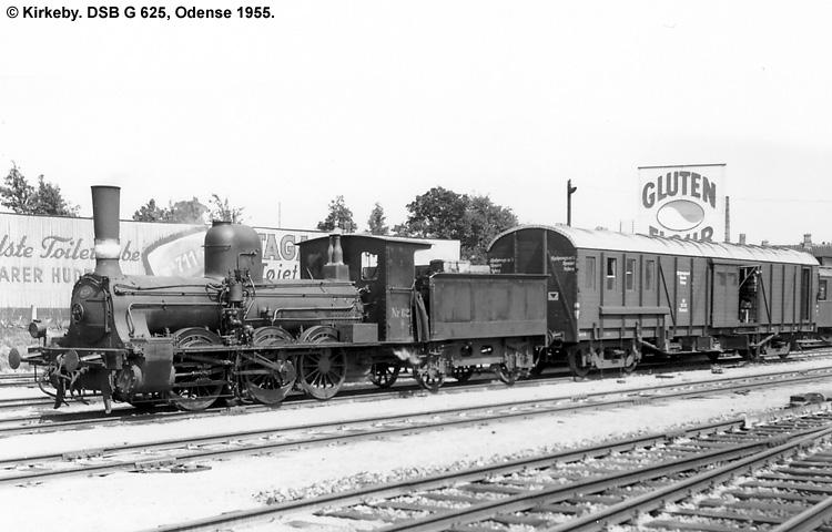 DSB G 625
