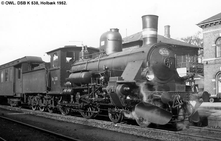 DSB K 538