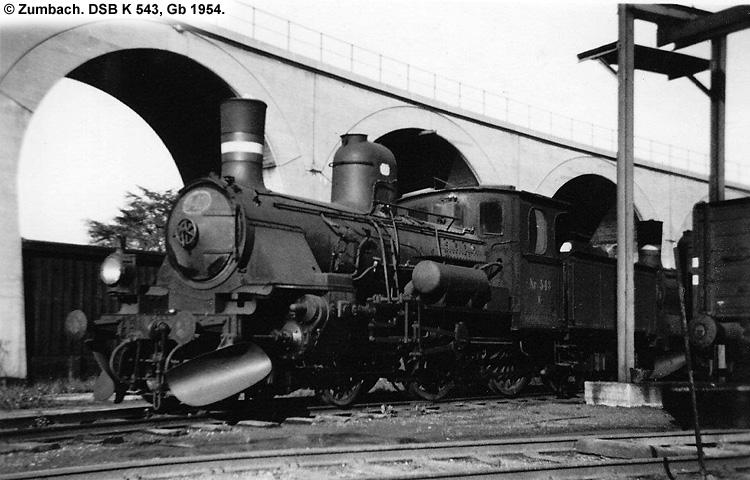 DSB K543