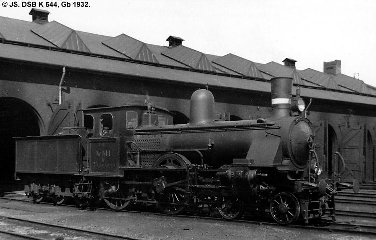 DSB K544