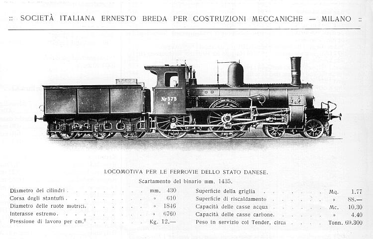 DSB K 575