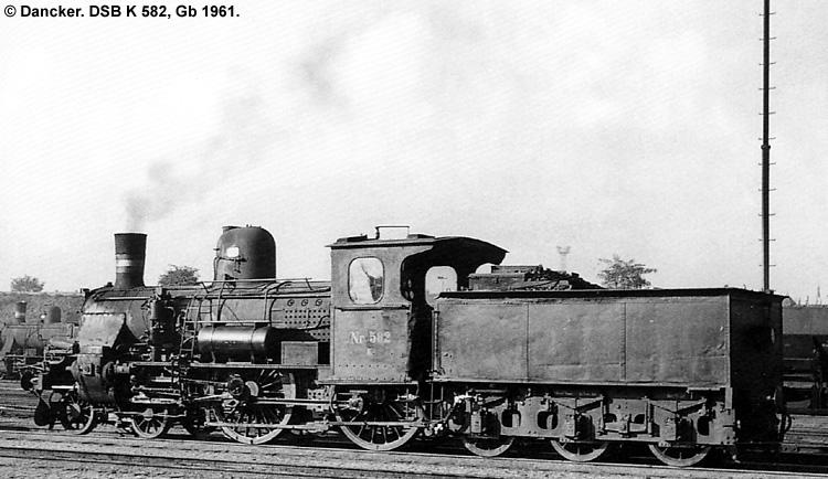 DSB K582