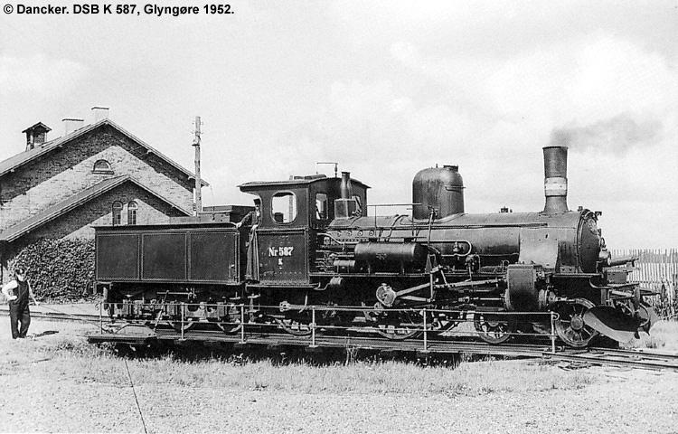 DSB K587