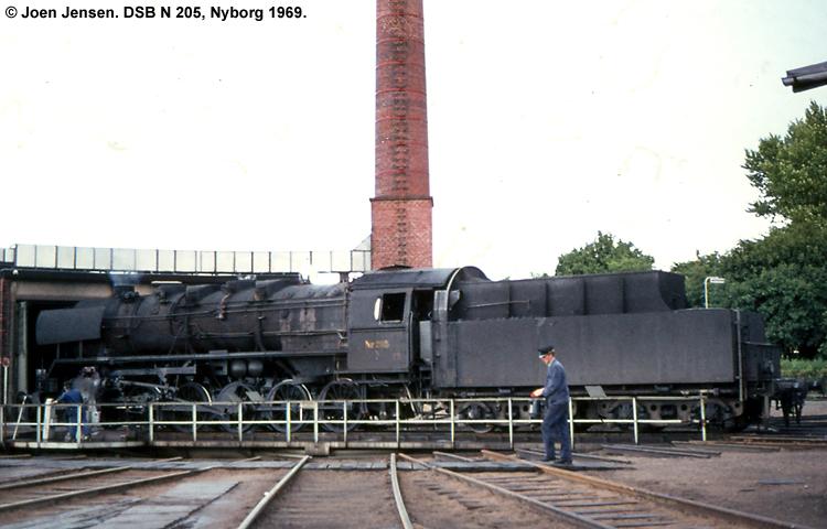 DSB N 205