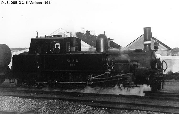 DSB O 315