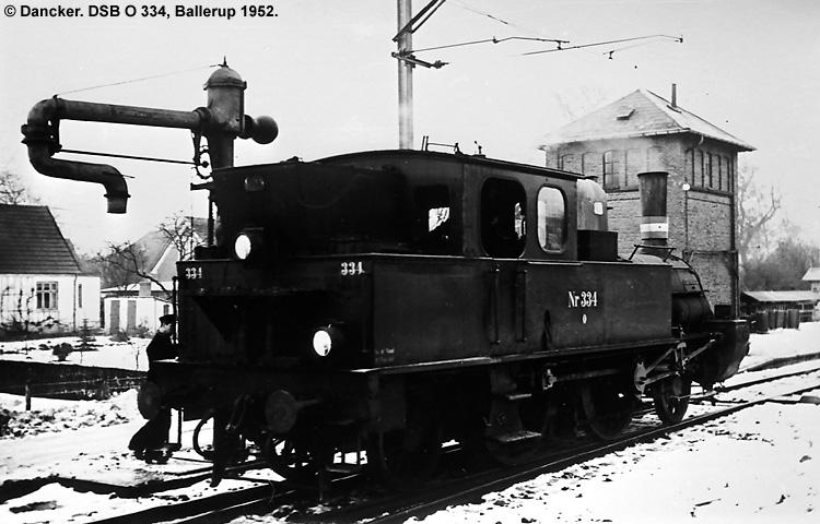 DSB O 334