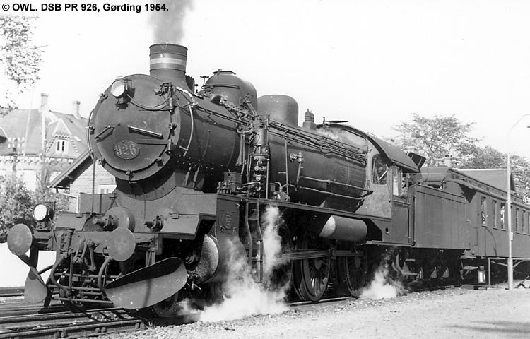 DSB PR 926