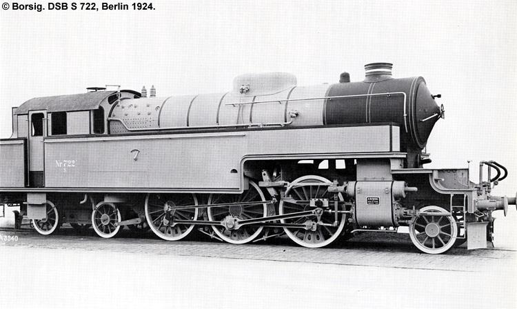 DSB S 722