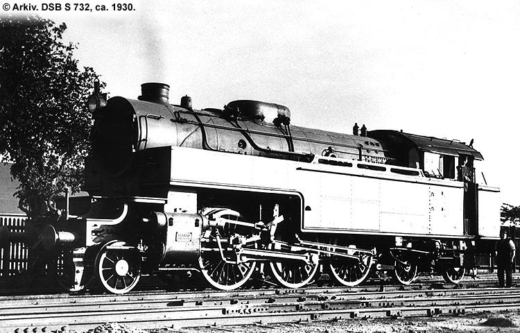 DSB S 732
