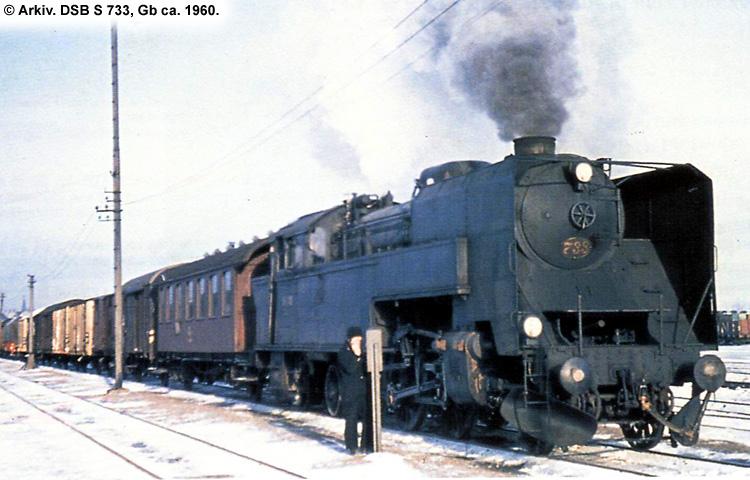 DSB S 733