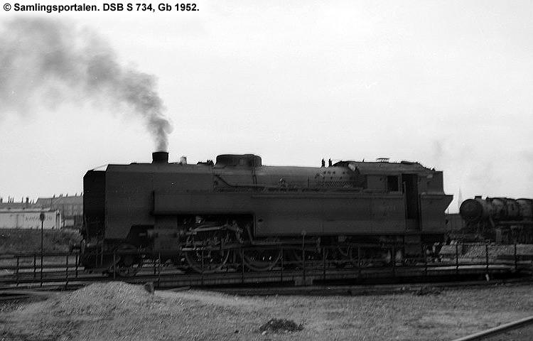 DSB S 734