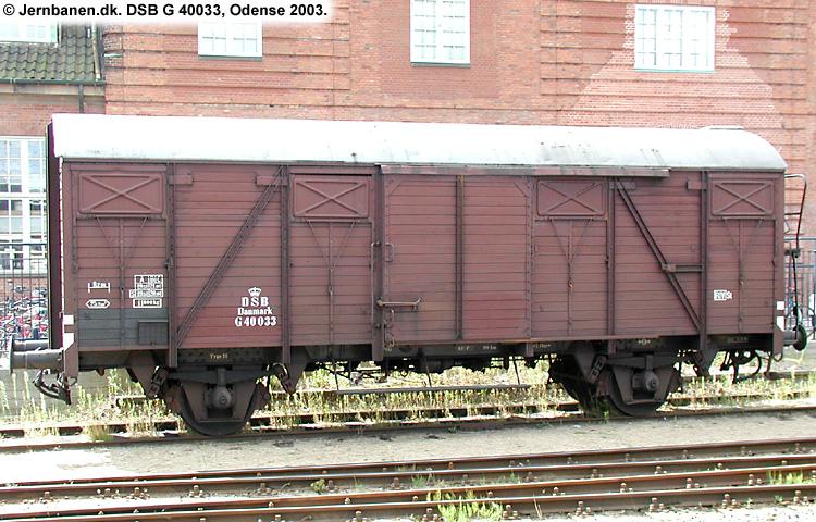 DSB G 40033