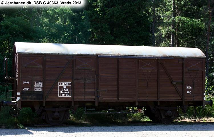 DSB G 40363