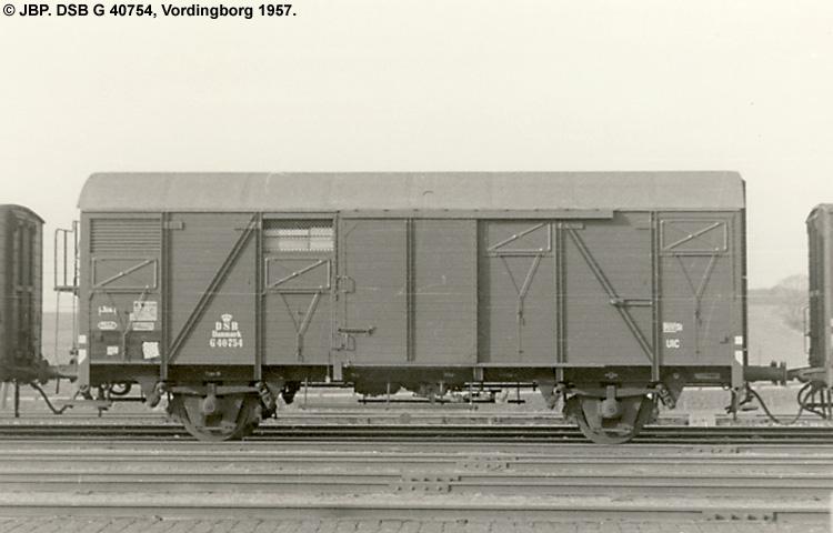 DSB G 40754