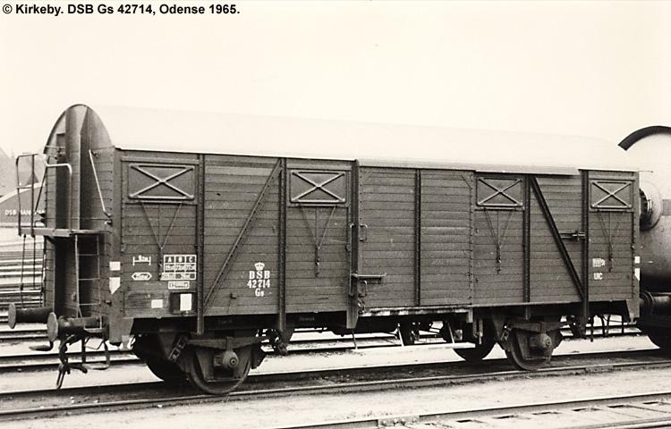 DSB Gs 42714