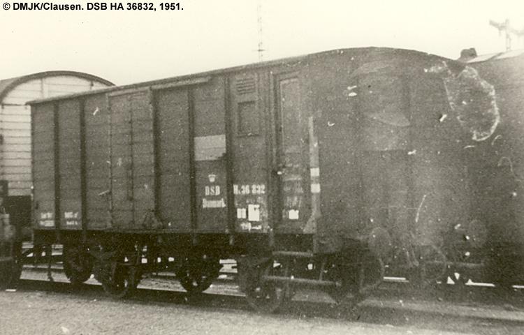 DSB HA 36832