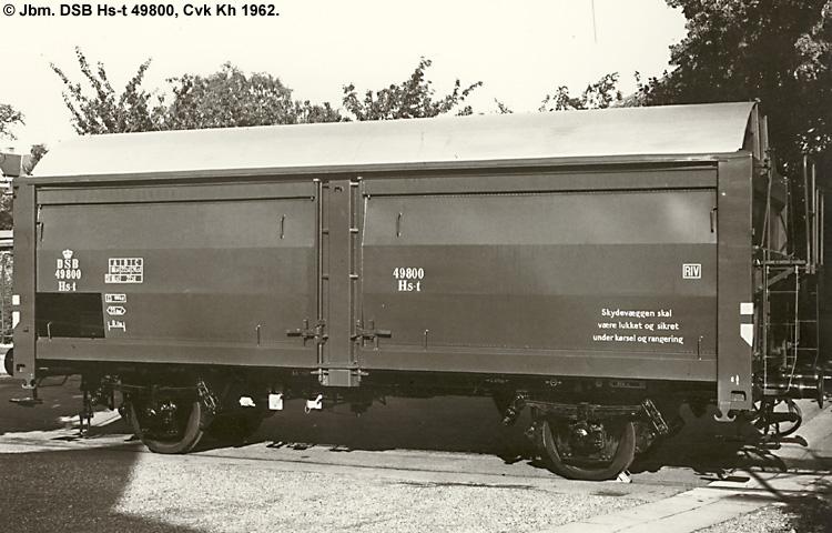 DSB Hs-t 49800