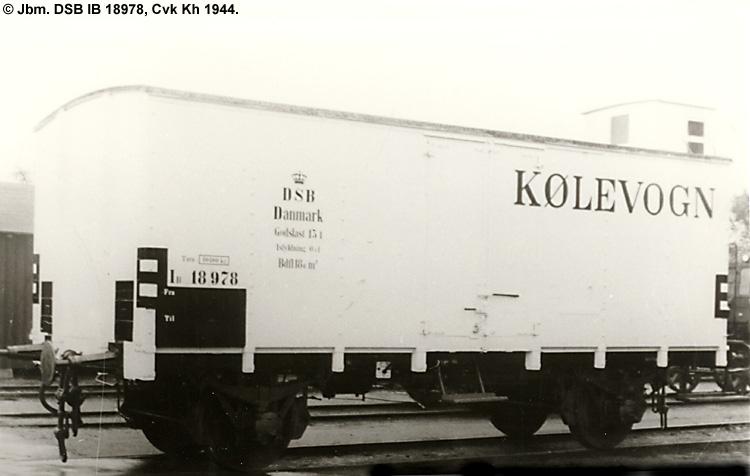 DSB IB 18978
