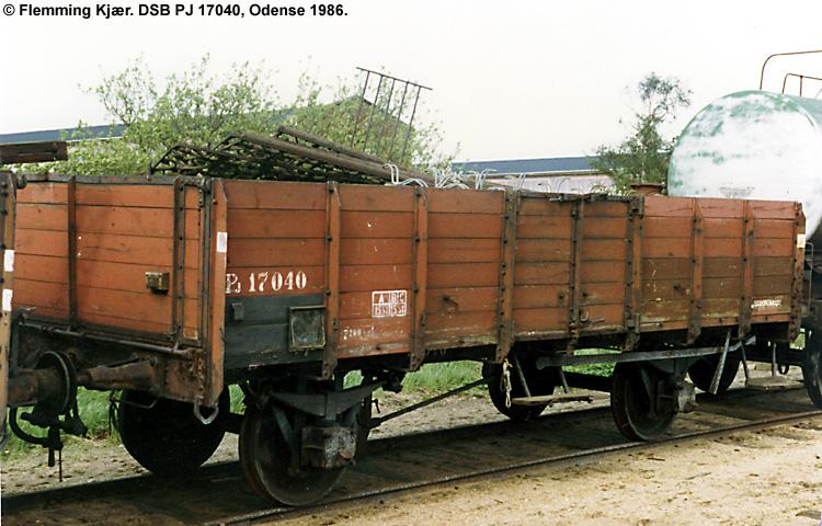DSB PJ 17040