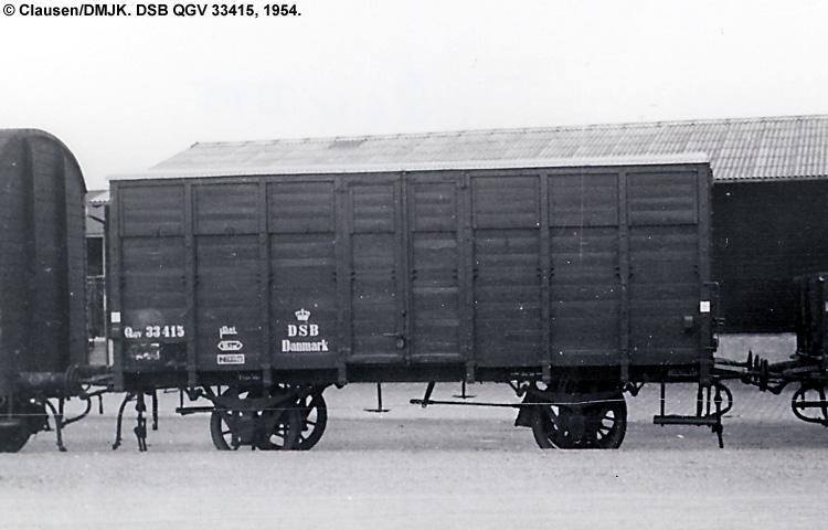 DSB QGV 33415