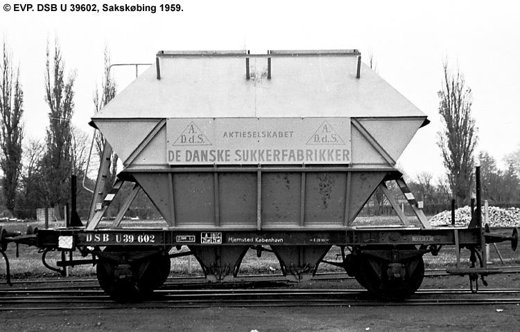 DSB U 39602