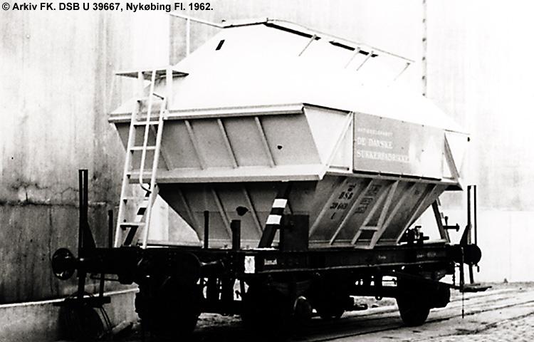 DSB U 39667