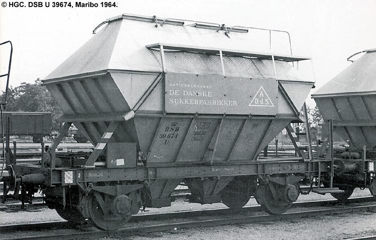 DSB U 39674