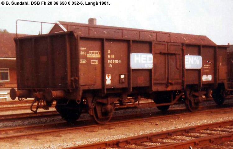 DSB Fk 6500052